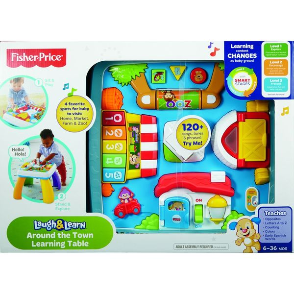 Smart Stages Around Town Table Fisher Price Laugh N Learn