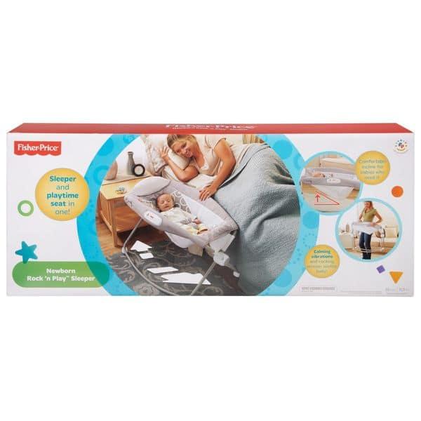 Shop Fisher Price Luminosity Newborn Rock N Play Sleeper Overstock 12360601