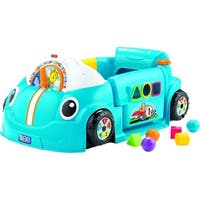 Fisher-Price Laugh & Learn Crawl Around Car, Blue