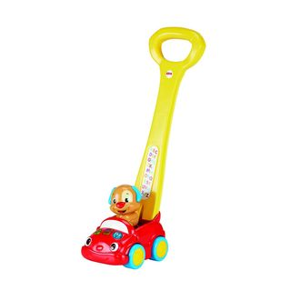 Fisher-Price Laugh and Learn Puppy's Smart Stages Push Car