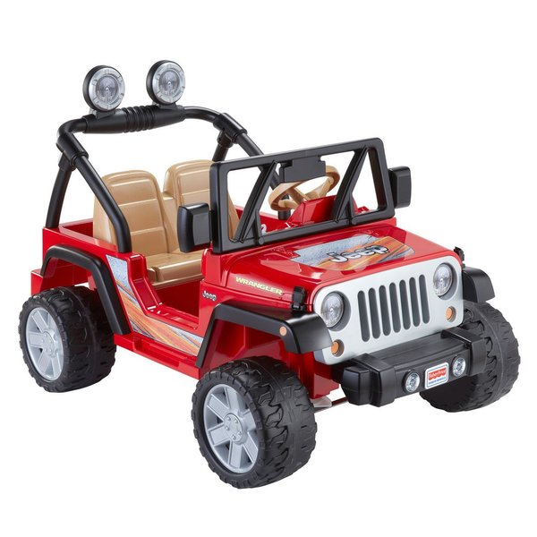 5821be2a Shop Power Wheels Jeep Wrangler - Free Shipping Today - Overstock - 12360671