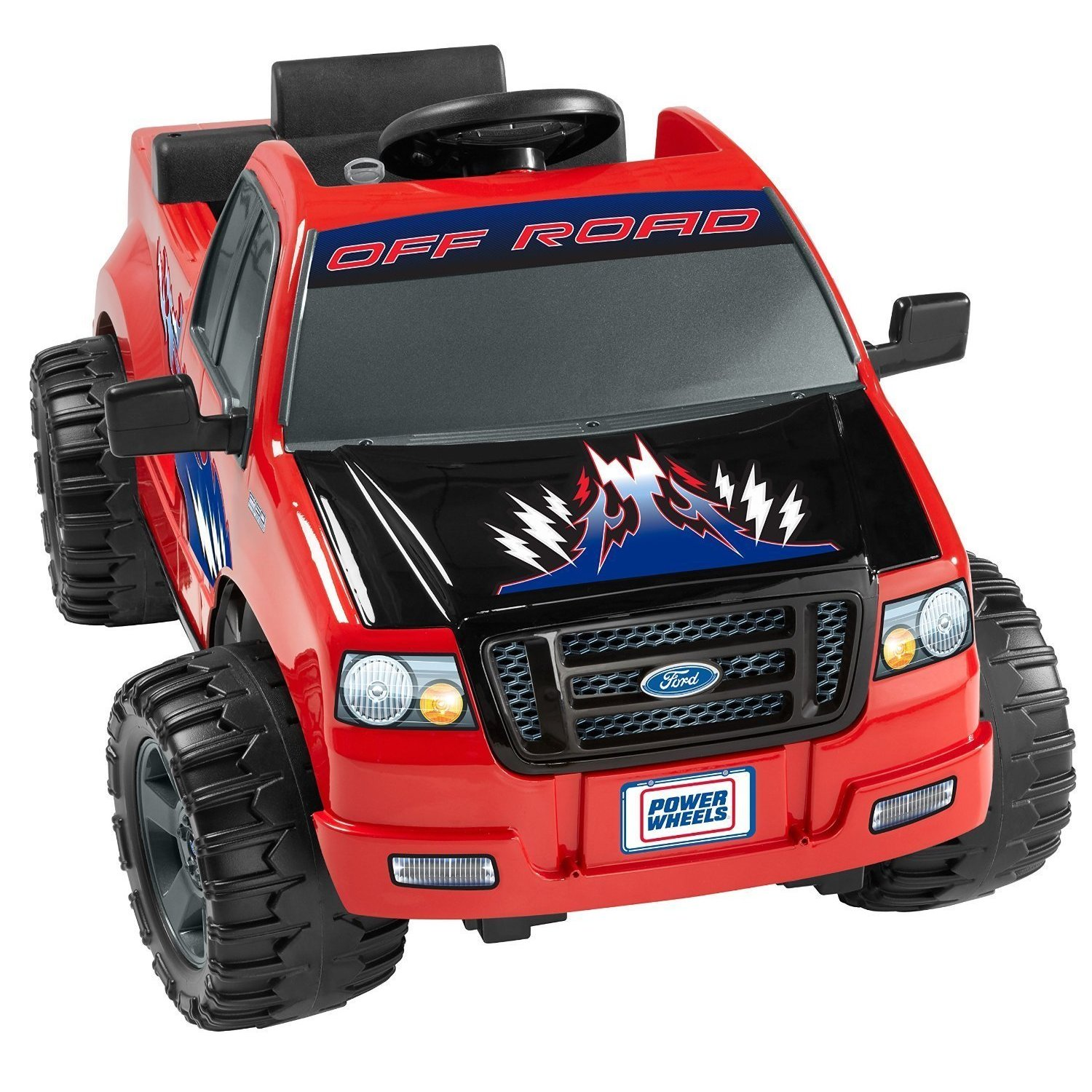 Fisher-Price Power Wheels Ford Lil' F-150, Green grass