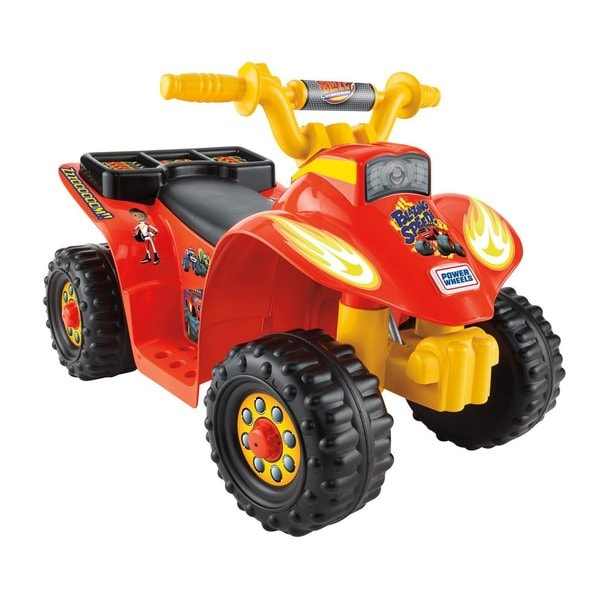 Fisher-Price Power Wheels Nickelodeon Blaze And The Monster Machines Lil' Quad