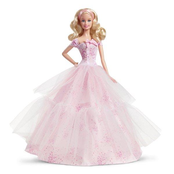 Mattel 2016 Birthday Wishes Barbie Doll