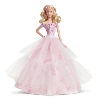 Mattel 2016 Birthday Wishes Barbie Doll