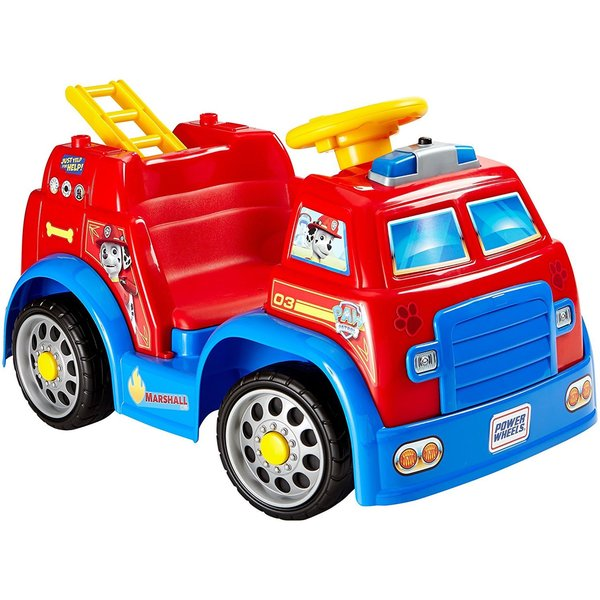 Fisher-Price Power Wheels PAW Patrol Fire Truck