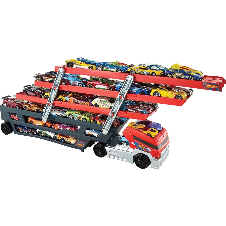 Mattel Hot Wheels Mega Hauler Truck, Orange