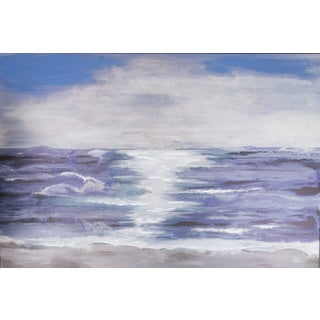 Hadden Spotts 'Coastal Abstract' Canvas Art