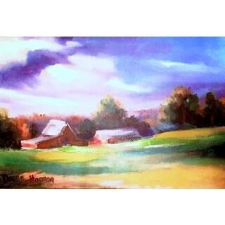 Donna Clarkson Harmon 'Landscape' Canvas Art