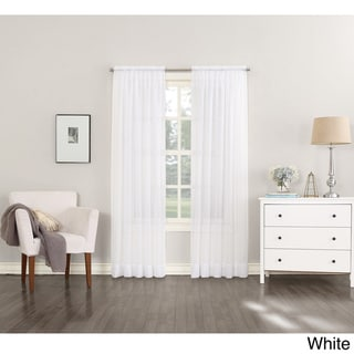 Emily Sheer Voile Single Curtain Panel