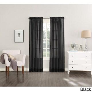 Curtains Ideas black sheer curtain : Black Sheer Curtains - Shop The Best Deals For Apr 2017
