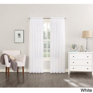 No. 918 Emily Sheer Voile Single Curtain Panel (More options available)