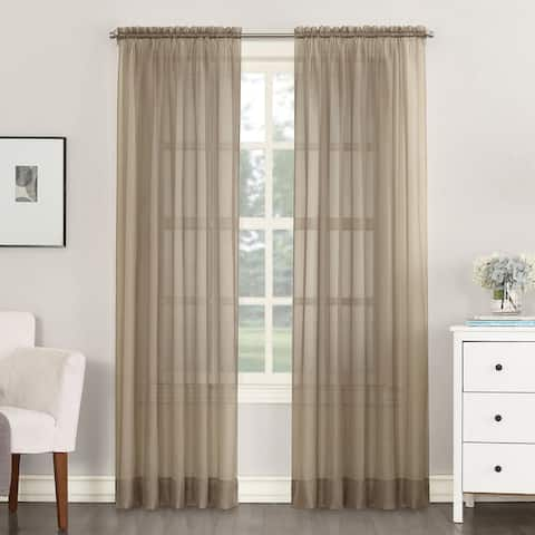 No. 918 Emily Sheer Voile Single Curtain Panel