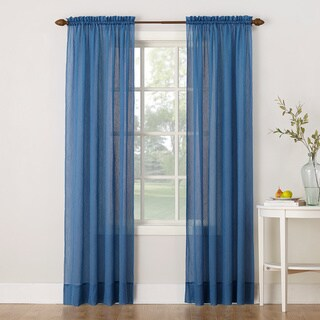 No. 918 Erica Sheer Crushed Voile Single Curtain Panel
