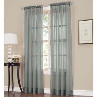 Link to No. 918 Erica Sheer Crushed Voile Single Curtain Panel Similar Items in Window Treatments