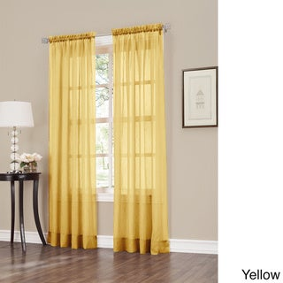 Buy Yellow Sheer Curtains Online At Overstock Our Best Window