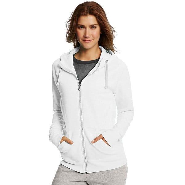 Champion Womens Plus-Size Fleece Full Zip Hoodie