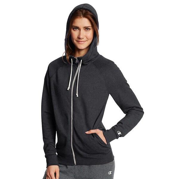 Shop Champion Women's French Terry Full-zip Hoodie