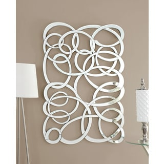 Decorative Swirl Wall Mirror