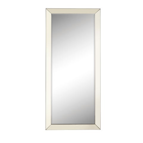 Large Standing Wall Mirror with Mirror Frame