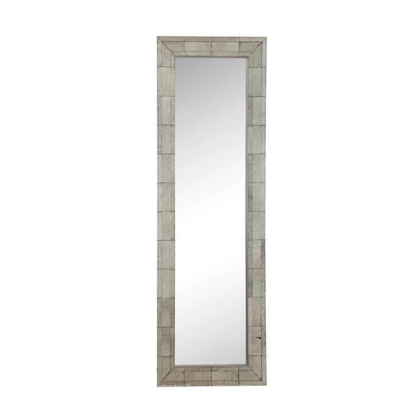 Shop Coaster Company Silvertone Framed Floor Mirror - Free Shipping ...