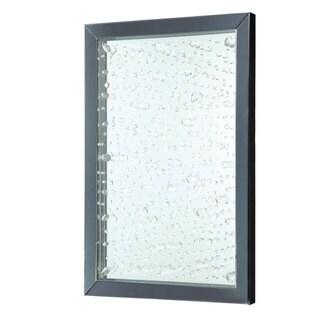 Coaster Rain Droplets Black Framed Wall Mirror