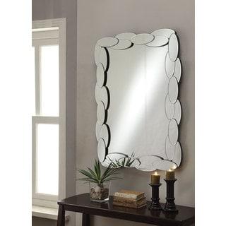 Coaster Small Oval Frames Wall Mirror