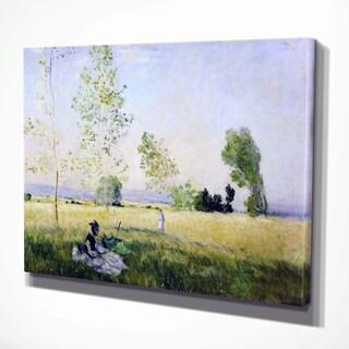 Claude Monet 'Summer' Reproduction Canvas Print