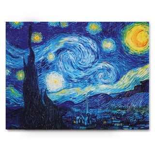 Wexford Home Van Gogh 'Starry Night' Gallery-wrapped Canvas Wall Art