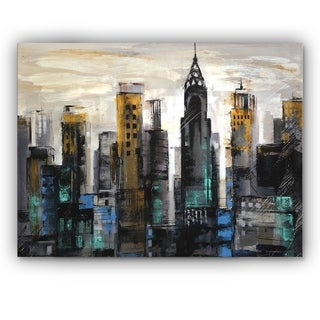 Silvia Vassileva 'New York Moment' Canvas Wall Art
