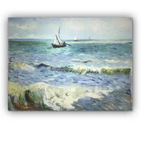 Van Gogh 'Seascape at Saintes' Canvas Art - 16 x 20