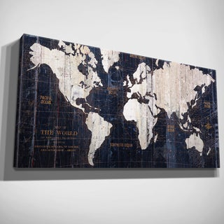 Frameable World Map.Map Art Gallery Shop Our Best Home Goods Deals Online At Overstock