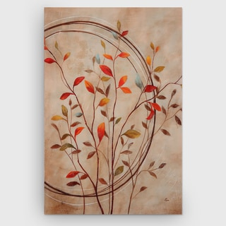 Nan F. Hand 'Autumn's Delight I' Gallery-wrapped Canvas wall Art