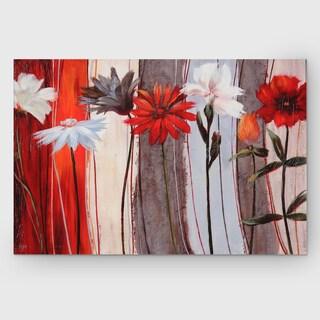 Nan F 'Spring Debut' Embellished Canvas Art Print