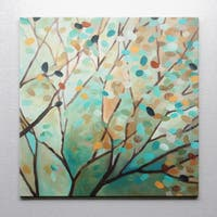 Carol Robinson 'TREE OF LIFE I' Reproduction Canvas Print