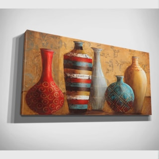 Janet Tava 'Vessels of Tabuk' Canvas Wall Art