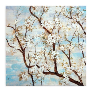 Wexford Home NAN F 'Spring in Bloom' Gallery-wrapped Canvas Wall Art