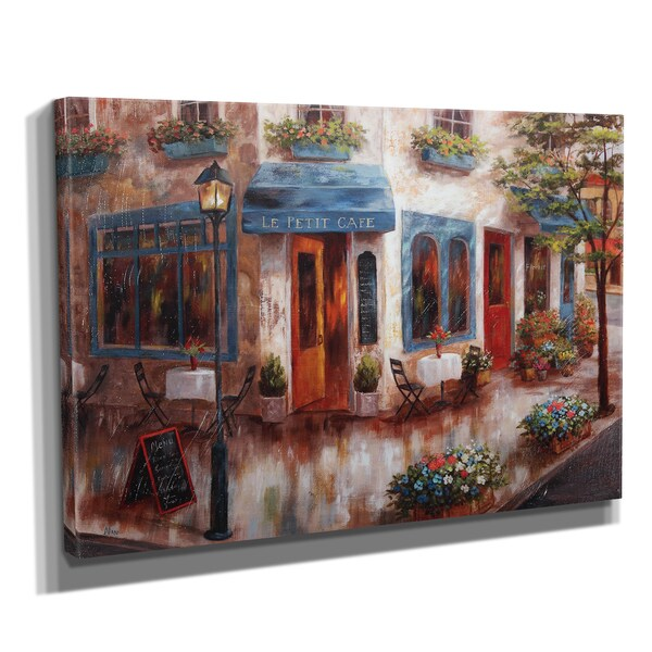Wexford Home 'Le Petit Cafe' Canvas Art
