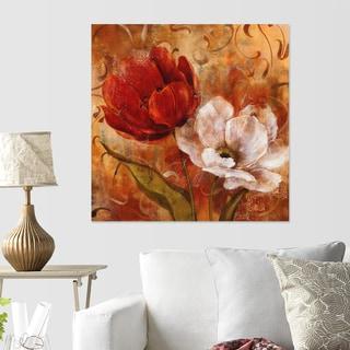Carol Robinson 'Flower Duet II' Canvas Wall Art