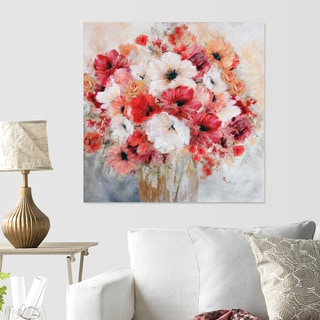 Carol Robinson 'Garden's Passion II' Canvas Art