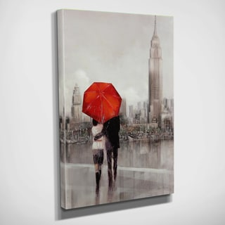 Ruane Manning 'Modern Couple in Paris' Gallery-wrapped Canvas Art