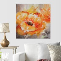 Nan F 'Orange Crush I' Canvas Wall Art
