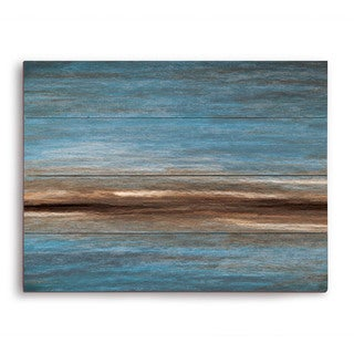 Dirt Path Line Wooden Wall Art