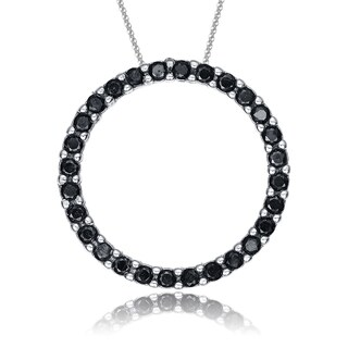 Collete Z Cubic Zirconia Round Circle Pendant