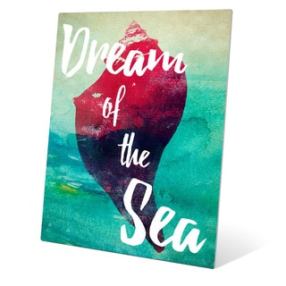 Dream of Sea - Red Wall Art on Metal