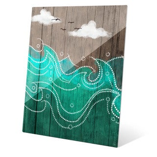 Dark Waters on Wood Wall Art on Acrylic
