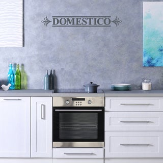 Style & Apply Vinyl 'Domestico' Wall Decal Home Decor