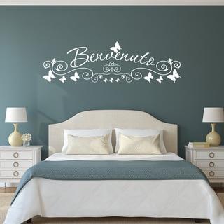 Style & Apply 'Benvenuto' Wall Art Decal