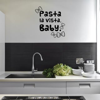 'Pasta la Vista' Vinyl Wall Decal