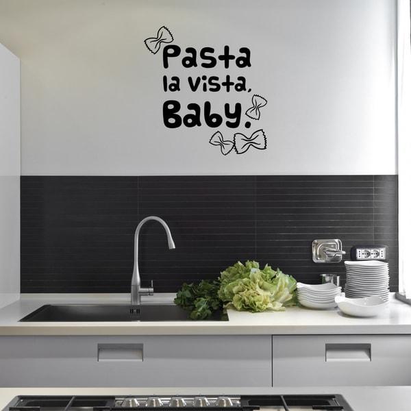 'Pasta la Vista' Vinyl Wall Decal